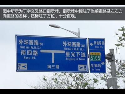 这些指路交通标志牌你认识吗
