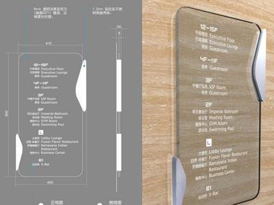 自由广告为汉阳医院打造标识系统