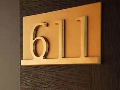自由广告解说酒店标识牌设计的三大注意事项
