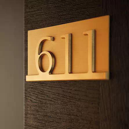 酒店标识牌设计