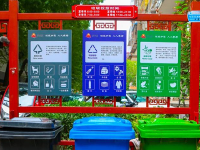 哪里可以定做垃圾分类标识牌