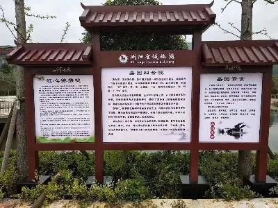 景区指示牌体系构成生产制作